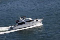 Luxuxschnellboot Lizenzfreies Stockfoto