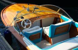 Luxuxschnellboot Stockfoto