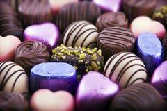 Luxuxschokolade Stockbild