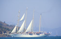 Luxuxsegeln-Yacht Stockfotografie