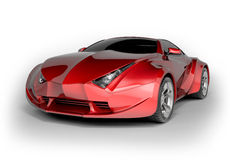 LuxuxSportwagen Lizenzfreies Stockfoto