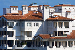 Luxuxwohnungen Stockfoto