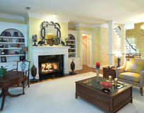 Luxuxwohnzimmer Stockfoto