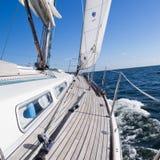 Luxuxyacht Lizenzfreies Stockfoto