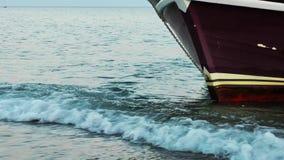 Luxuxyacht im Meer stock video footage
