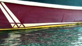 Luxuxyacht im Meer stock video