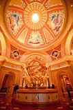 Luxyry guld- garnering i Macao Royaltyfri Fotografi