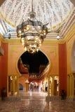 Luxyry interior of eastern resort Stock Image