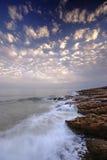 luz Португалия пляжа algarve Стоковые Фото