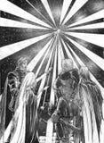 A luz ilustração do vetor