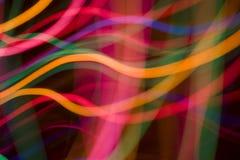 Luz abstracta del color Imagen de archivo