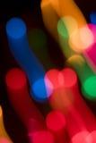 Luz abstracta del color Fotografía de archivo