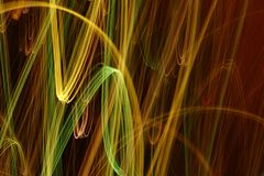 Luz abstrata Foto de Stock Royalty Free