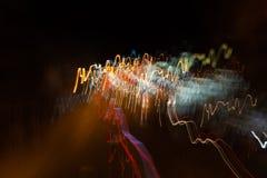 Luz abstrata Foto de Stock