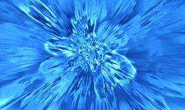 Luz abstrata azul Fotos de Stock
