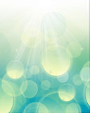 Luz abstrata do fundo - azul Imagem de Stock Royalty Free