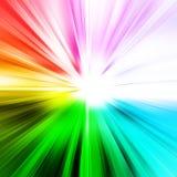Luz abstrata do raio Fotos de Stock Royalty Free