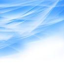Luz abstrata - fundo azul Foto de Stock Royalty Free