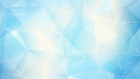 Luz abstrata - fundo azul da Web ilustração stock