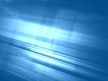 Luz abstrata - fundo luminoso azul ilustração royalty free