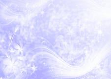 Luz abstrata - fundo roxo Imagens de Stock Royalty Free
