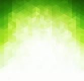 Luz abstrata - fundo verde Fotografia de Stock Royalty Free