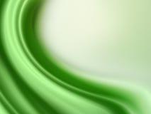 Luz abstrata - fundo verde Fotos de Stock