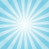 Luz abstrata - o azul irradia o fundo Cmyk do EPS 10 do vetor Fotos de Stock Royalty Free