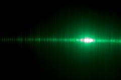 Luz abstrata - verde Foto de Stock