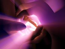 Luz acunada Imágenes de archivo libres de regalías
