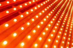 Luz alaranjada do ponto Fotos de Stock