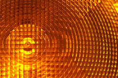 Luz alaranjada na construção Imagem de Stock