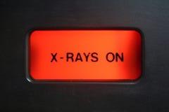 Luz alerta do raio X Fotos de Stock