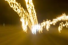 Luz amarela de Raad Fotografia de Stock