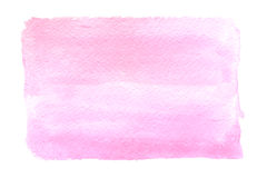 Luz - aquarela cor-de-rosa foto de stock royalty free