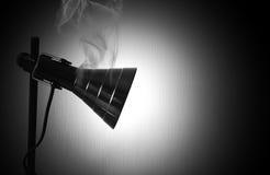 Luz atmosférica de la lámpara Fotos de archivo libres de regalías