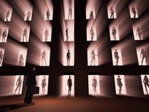 Luz atractiva Imagenes de archivo