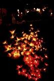 A luz autêntica da flor para decora Fotos de Stock Royalty Free
