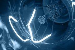 Luz azul fotografía de archivo libre de regalías