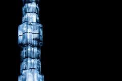 Luz azul Fotos de Stock Royalty Free