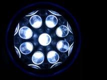 Luz azul Imágenes de archivo libres de regalías