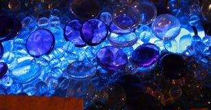Luz - azul imagens de stock