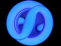 Luz - azul Foto de Stock