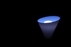 Luz azul Fotos de archivo libres de regalías