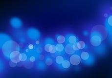 Luz azul abstracta libre illustration