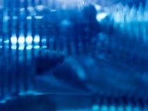 Luz azul abstracta foto de archivo libre de regalías