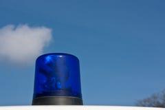 Luz azul da ambulância (1) Fotos de Stock Royalty Free