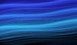 Luz azul que brilla intensamente Imagen de archivo