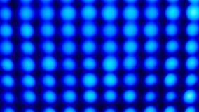 Luz azul que destella almacen de video