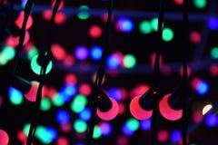 Luz azul verde vermelha Fotografia de Stock